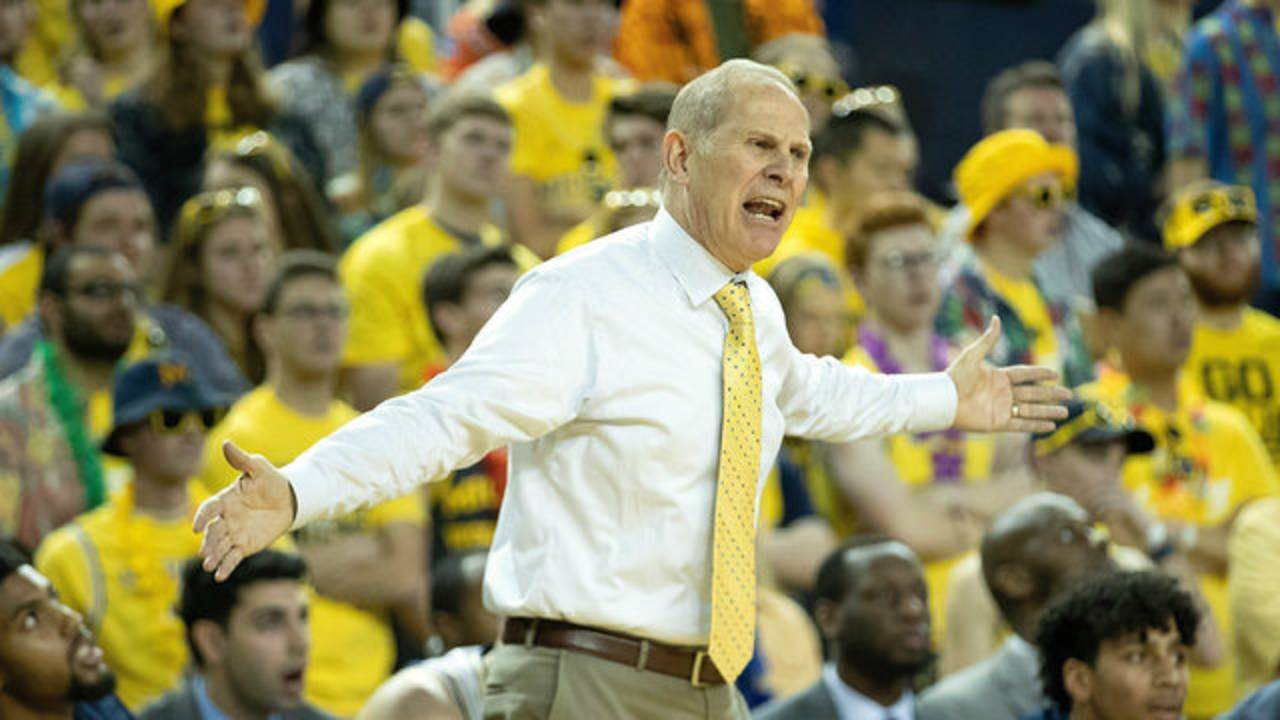 John Beilein Michigan basketball vs South Carolina 2018_1545147570231.jpg.jpg