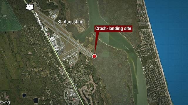 St. Augustine airplane crash site