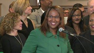 HISD officials celebrate improved accountability ratings from state