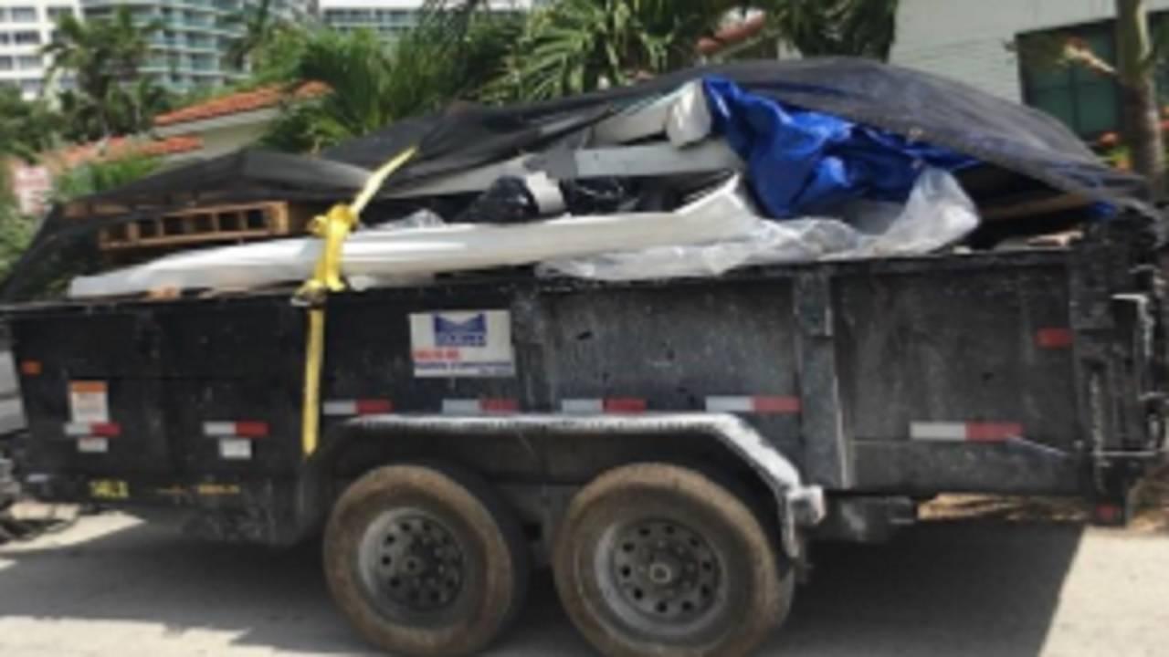 stolen dump trailer