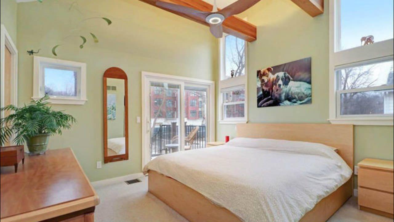 509 N Ashley St master bedroom
