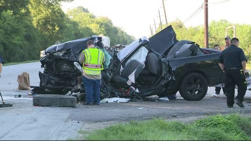 Person freed from pickup after serious northeast Harris County crash