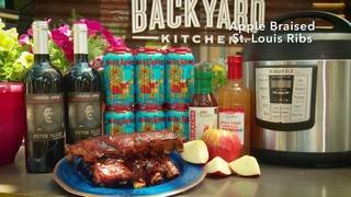 H-E-B Backyard Kitchen: Apple Braised St. Louis Ribs
