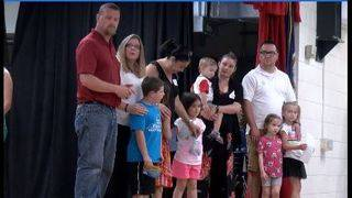 Elon families surprised with donations