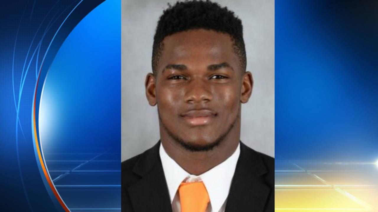 Mark Walton University of Miami football player arrested