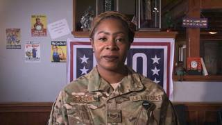 Staff Sgt. Krizia Gibson