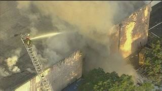 Fire erupts for second time this week at warehouse in Hialeah