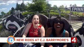 Check out the new thrilling rides this summer at C.J. Barrymore's in…