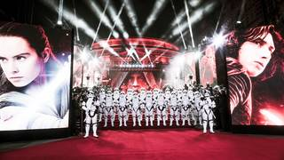 'The Last Jedi' hits theaters with $45 million on opening night