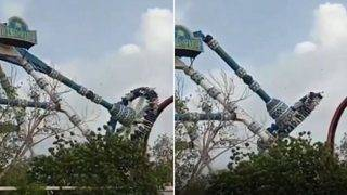 Theme Park Ride Snaps Mid-Air and Plunges to the Ground in India
