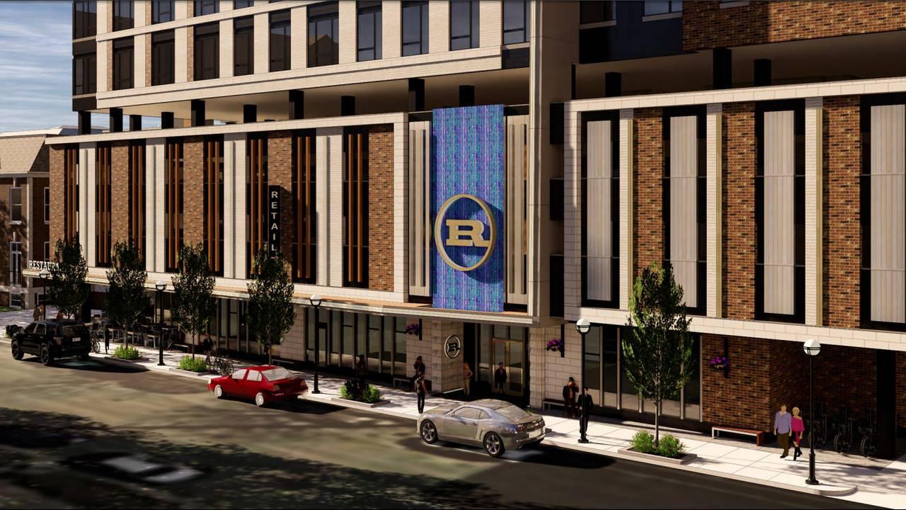 600 E. Washington ground level