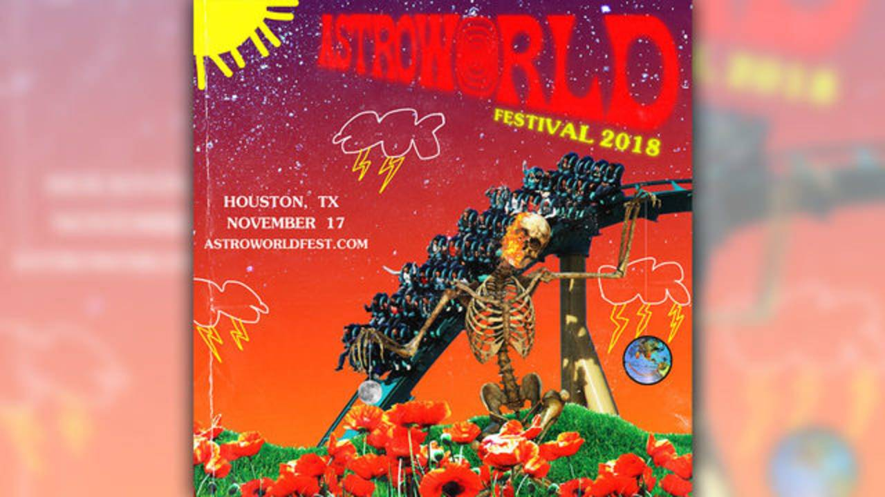 Astroworld Festival artwork 8-10-18