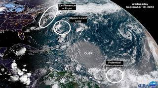 After several storms, calm comes to tropics