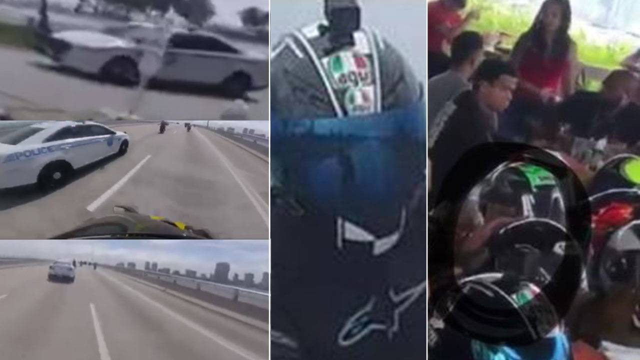 evidence in motorcyclist crash