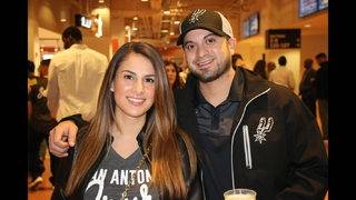 Slideshow: See who was at the Spurs big win over Brooklyn