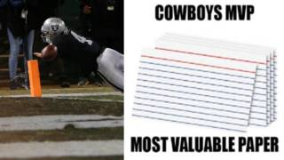 Social media reacts to wild Cowboys win aided by folded piece of paper,&hellip&#x3b;