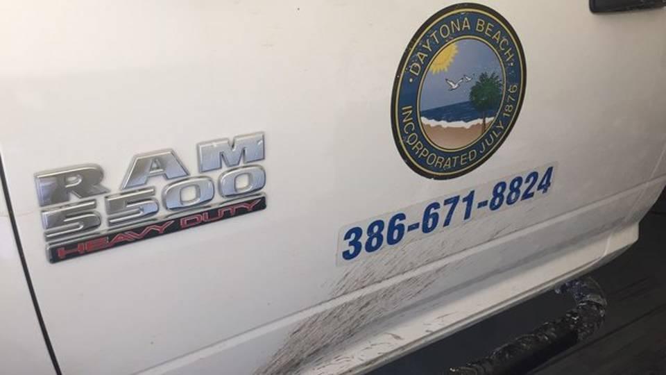 Public Works truck in Daytona fatal hit-run