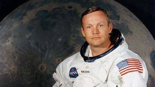 Neil Armstrong's spacesuit goes on display 50 years after moon launch