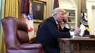 Trump, Putin speak by phone