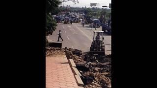 Major earthquakes strike near Fiji