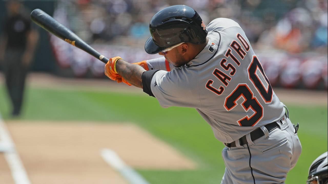 Harold Castro Detroit Tigers vs White Sox 2019
