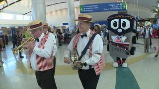 SAT kicks off Fiesta with first-ever airport parade
