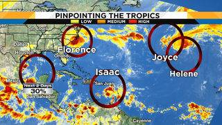 Here's how 5 systems in the tropics are impacting Central Florida
