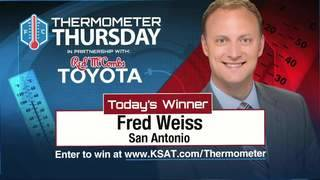 Thermometer Thursday: Aug. 3, 2017