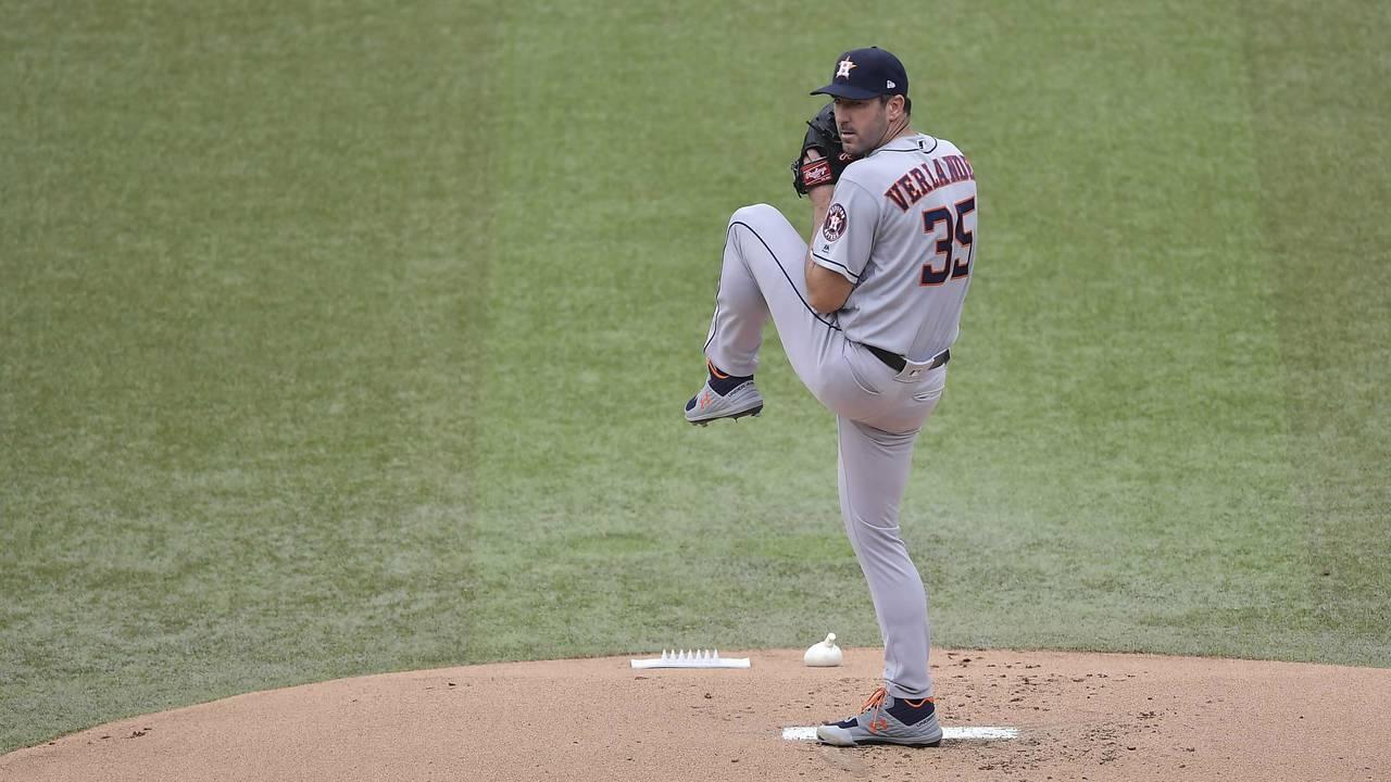 Justin Verlander Houston Astros 2019
