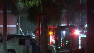 Families displaced after fire at Orange County complex, officials say