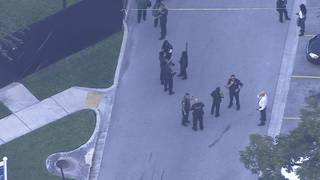 BSO deputy collapses outside county jail