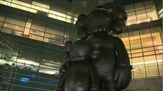 17-foot sculpture 'Waiting' to be on display during viewing party at&hellip&#x3b;