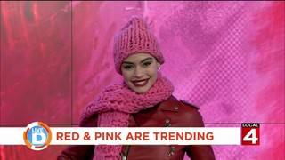 Do they clash or is it a smash? Red and Pink are trending in 2019!