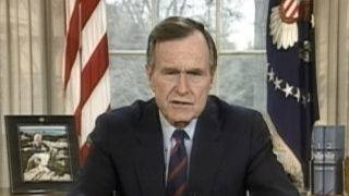 Bush once asked if anyone would attend his memorial services