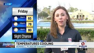 Pinpoint Weather: Candace Campos pinpoints from Bunnell