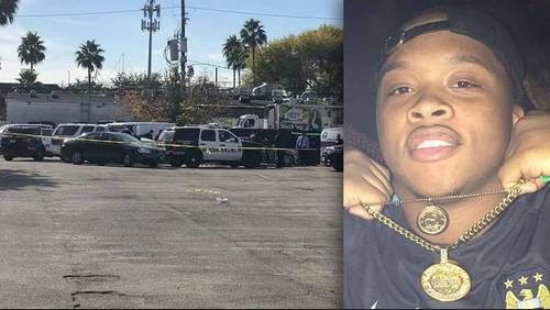 Two Houston rappers found shot dead in car outside strip club, family says