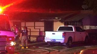 Family displaced after spark leads to fire in South Side home