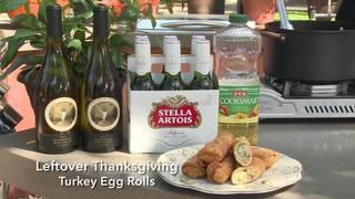 H-E-B Leftover Thanksgiving Turkey Egg Rolls
