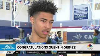 Star Furniture Athlete of the Week: Quentin Grimes