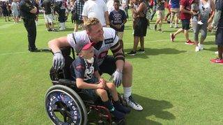 Texans continue training camp with second practice in Houston
