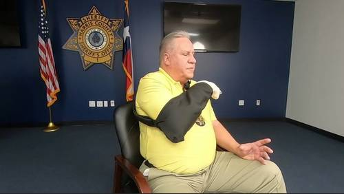 Sheriff's sergeant recovering after being shot while serving warrant on Daniel Trevino