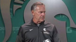 Dantonio on Michigan-Michigan State game: I just tell them to be ready