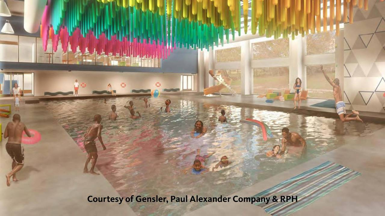 Blue Triangle rendering pool