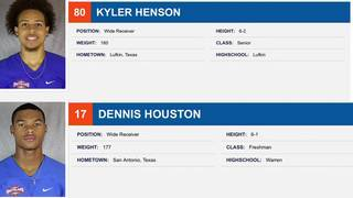 2 HBU football players accused of sexual assault