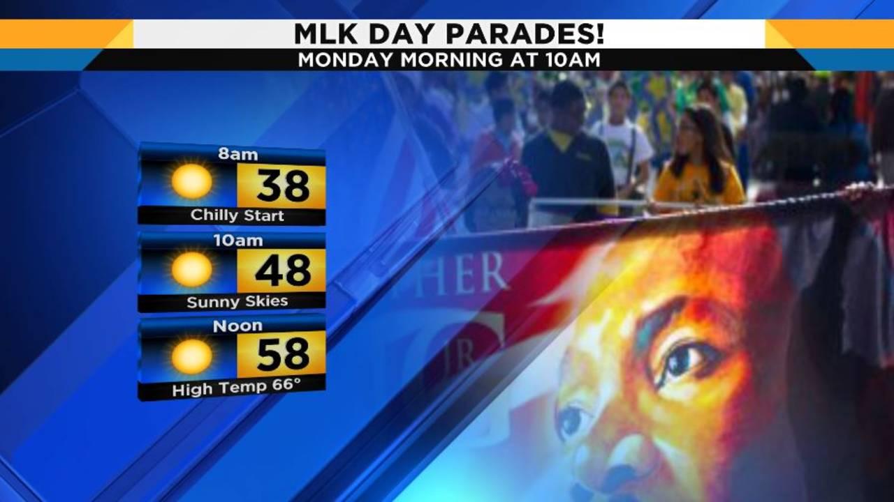 MLK weather temps (sat) 1-19-2019