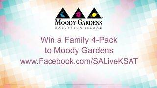 Win a Family 4-Pack to Moody Gardens Galveston Island