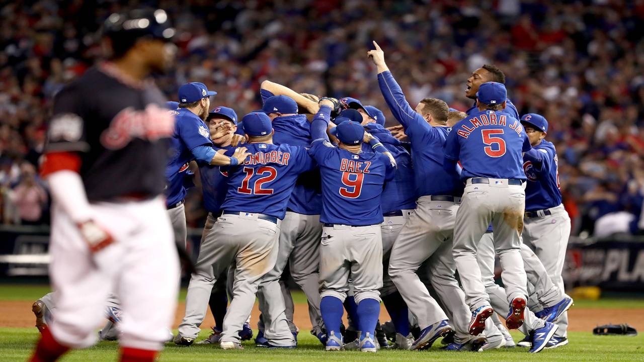 45dd4664cf4 Cubs win 1st series title since 1908