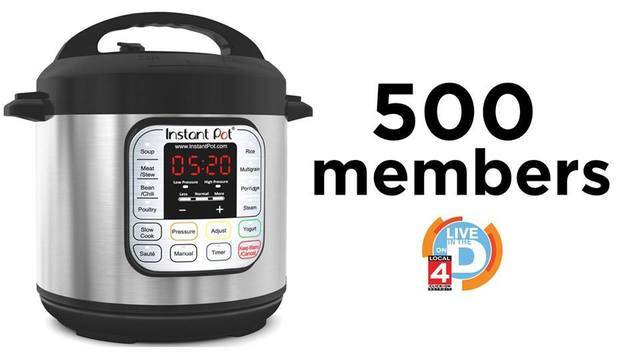 Instant pot 500 members