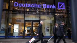 Layoffs have started at Deutsche Bank