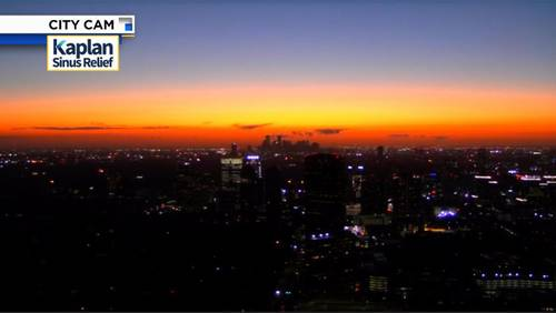 Did you see Houston's purple sunset or sunrise? It's because of Russia